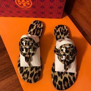 Tory Burch Miller Sandals In leopard print